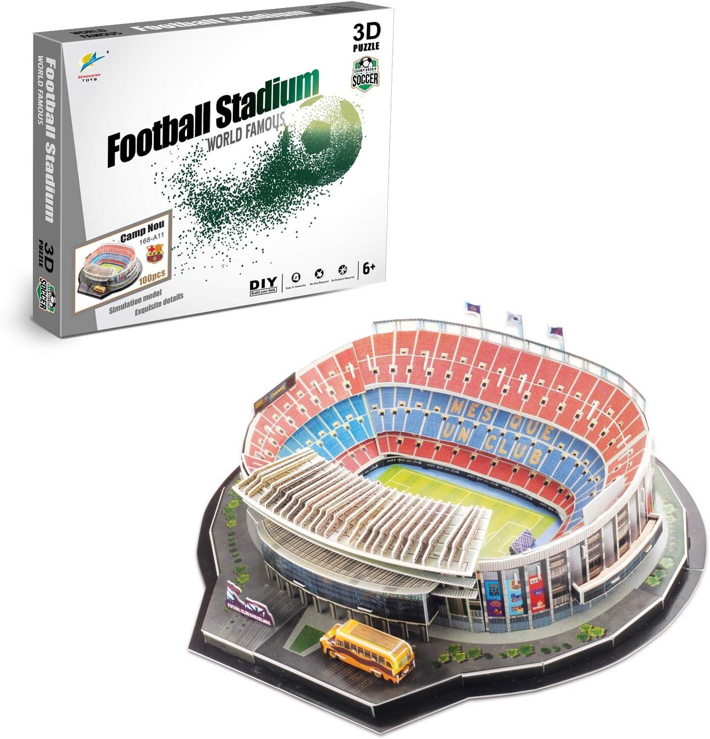 Zeye 3D Puzzle Barcelona NOU Camp Stadium