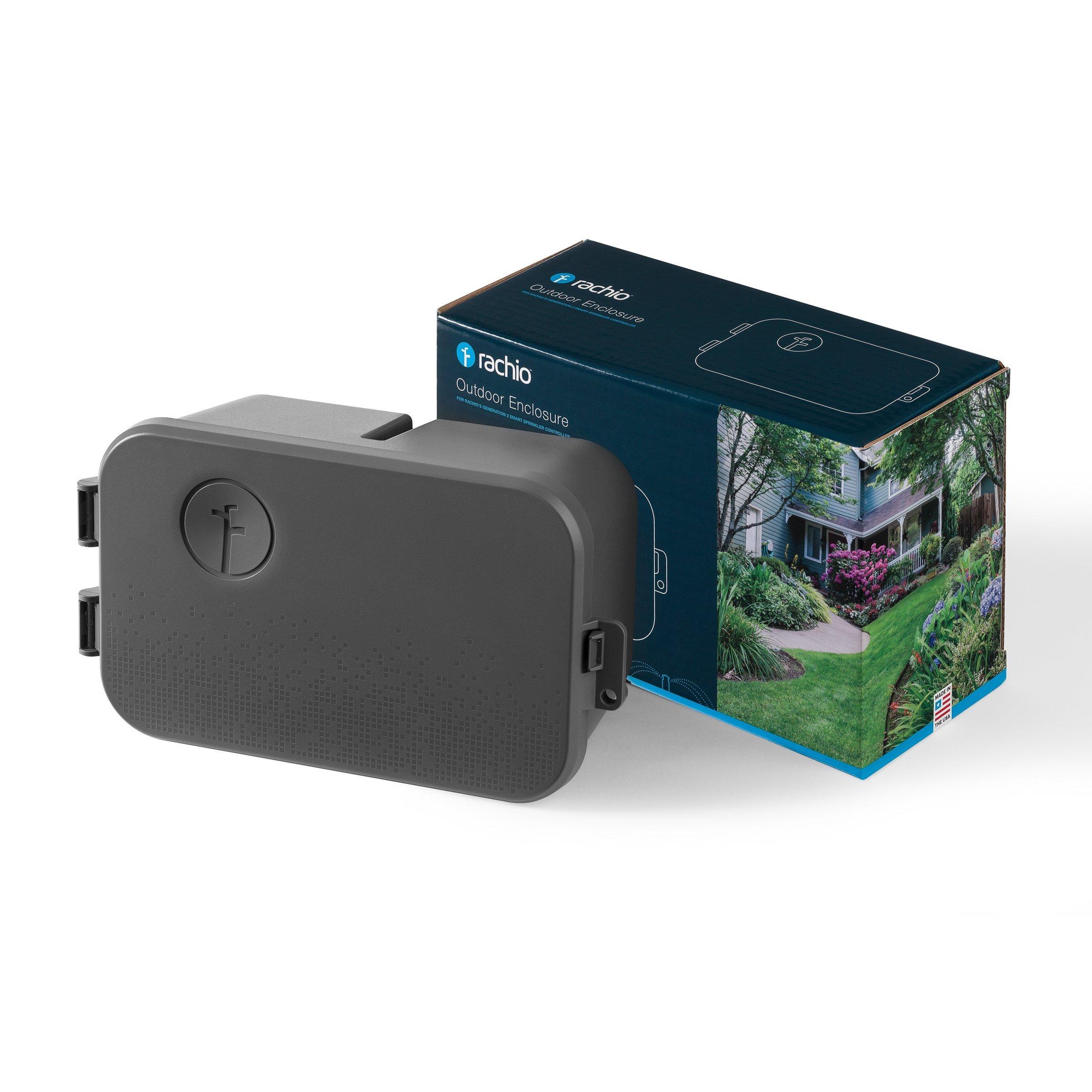 Rachio Outdoor Enclosure for Rachio 3 and Generation 2 Smart Sprinkler Controller by Rachio