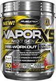 MuscleTech Performance Series Vapor X5 Next Gen Pre Workout Powder with Creatine, Beta Alanine, Betaine, Nitric Oxide and Energy, Icy Rocket Freeze, 30 Servings