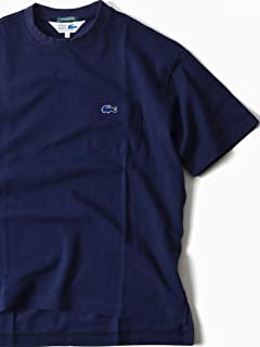 Drop Tail Pocket Tee 112-11-5024: Navy