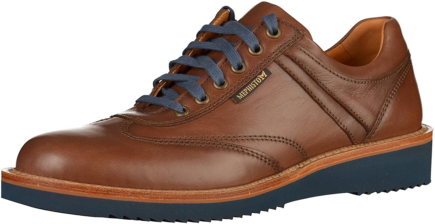 Mephisto Adriano Chestnut Mens Brown Leather Handmade Mens Chestnut Shoes B0755DWF9F Fashion Sneakers f06e0a