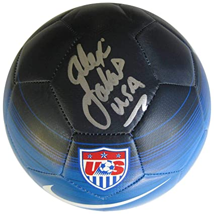 afcccd439 Alexi Lalas, usa National Team, signed, autographed, usa Soccer Ball, coa,  with Proof - Autographed Soccer Balls at Amazon's Sports Collectibles Store