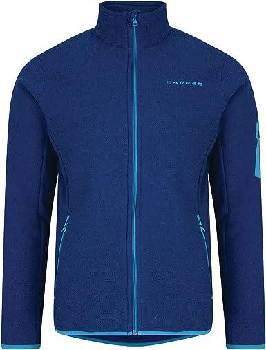 Dare 2b Mens Devoir Full Zip Stretch Textured Outdoor Fleece