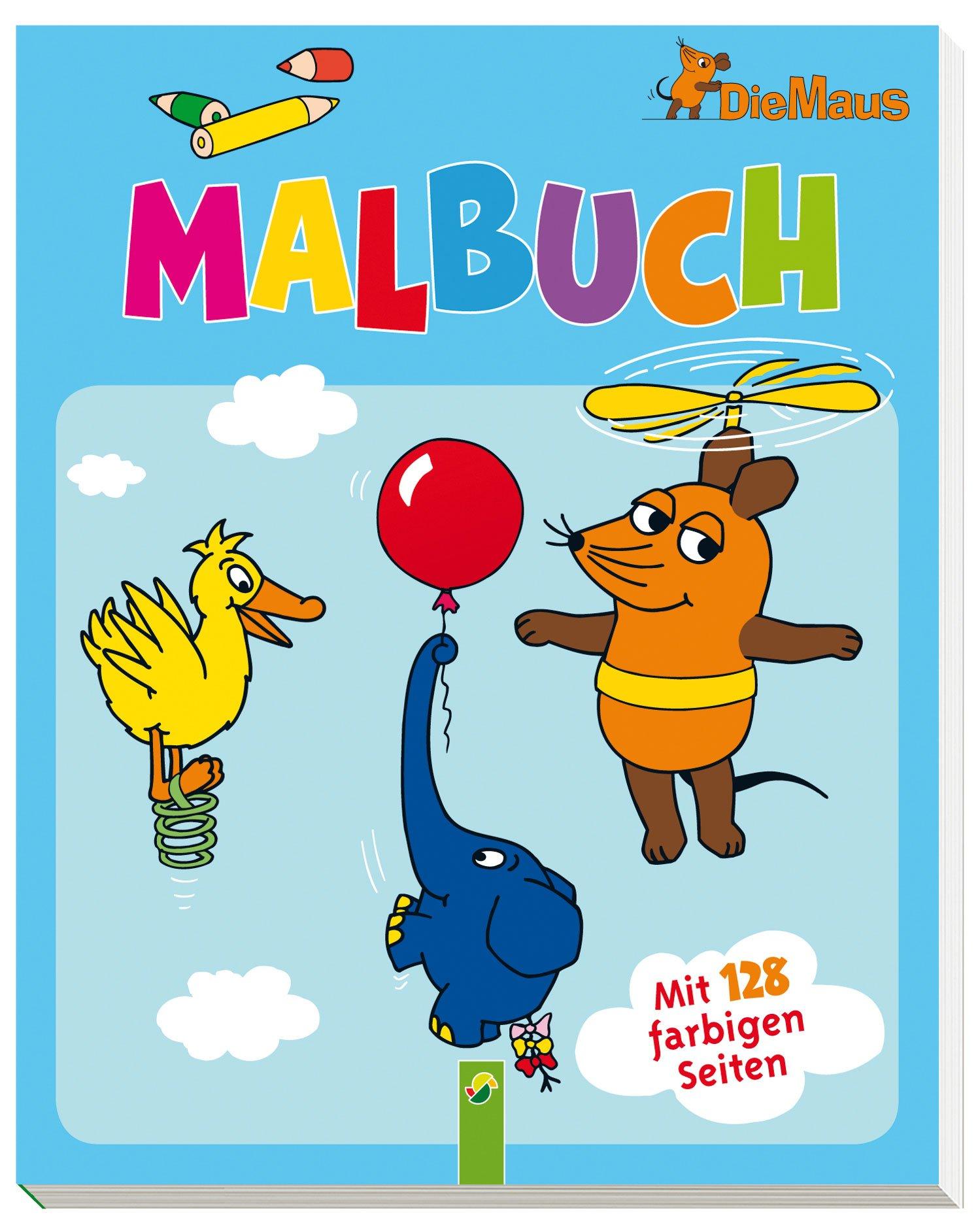 Die Maus - Malbuch: Mit 128 farbigen Seiten: Amazon.de: .: Bücher