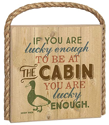 Amazon Imagine Design 7 X Great Outdoors Wood Plaque With