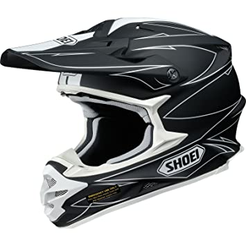 Casco Mx Shoei Vfx-W Hectic Tc5 Blanco (L , Blanco)