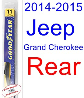 2014-2015 Jeep Grand Cherokee Wiper Blade (Rear) (Goodyear Wiper Blades-
