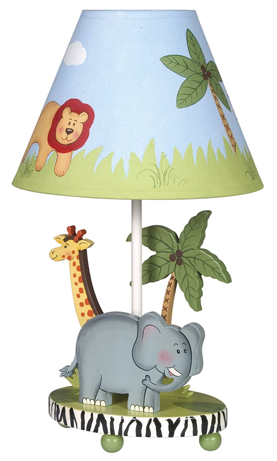 Rosenberry rooms safari table lamp amazon kitchen home geotapseo Image collections