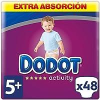 Dodot Activity Pañales Talla 5+, 48 Pañales