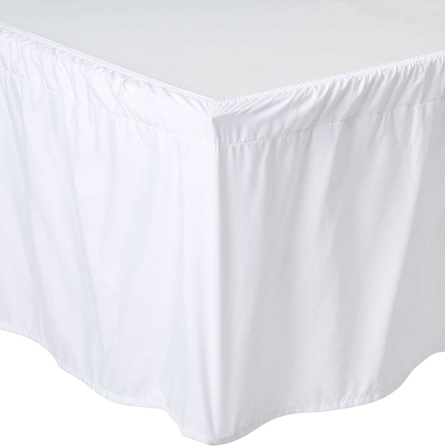 De Moocci Wrap Around Style Tailored Bed Skirt