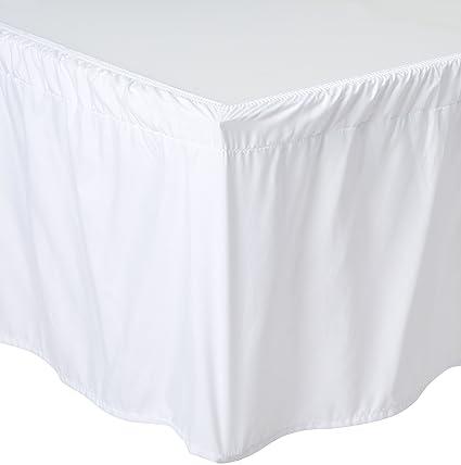 Amazon Com De Moocci Wrap Around Style Tailored Bed Skirt Bedskirt