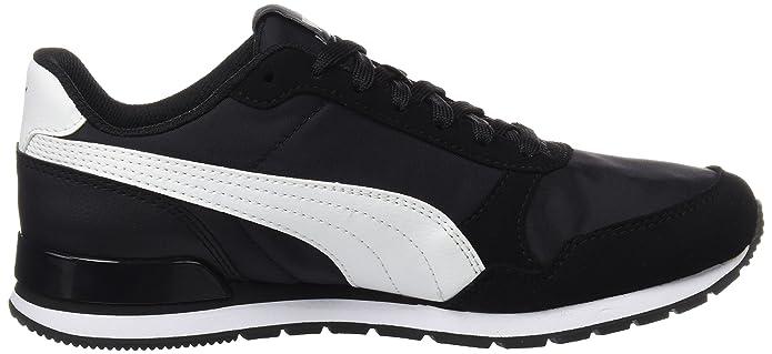 Puma St Runner V2 Nl, Zapatillas de Cross Unisex adulto, Negro (Puma Black-Puma White 1), 38.5 EU