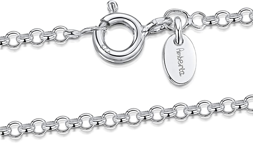 925 STERLING SILVER BELCHER CHAIN NECKLACE