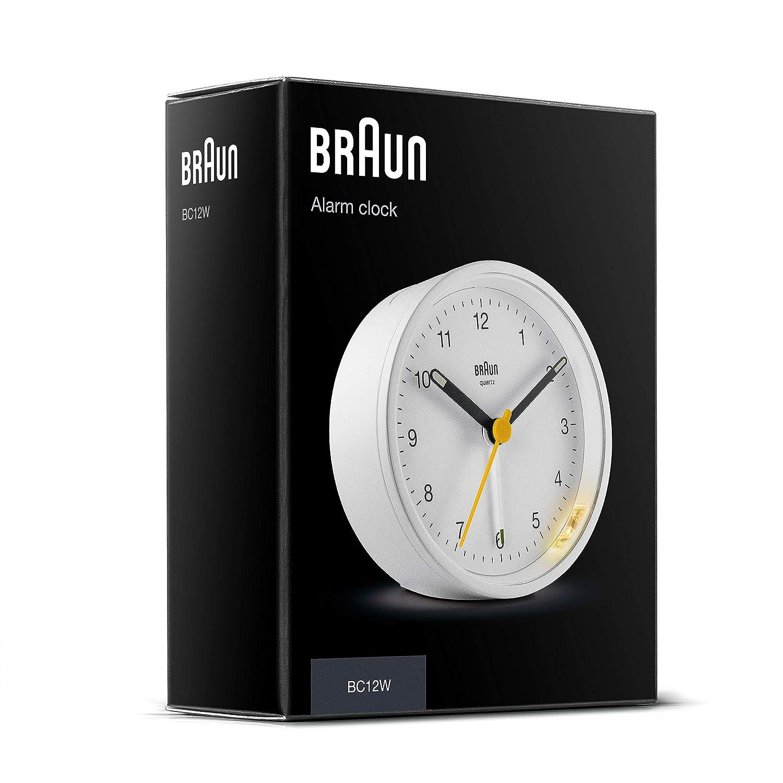 Amazon.com: Ameico Braun - Reloj despertador analógico ...