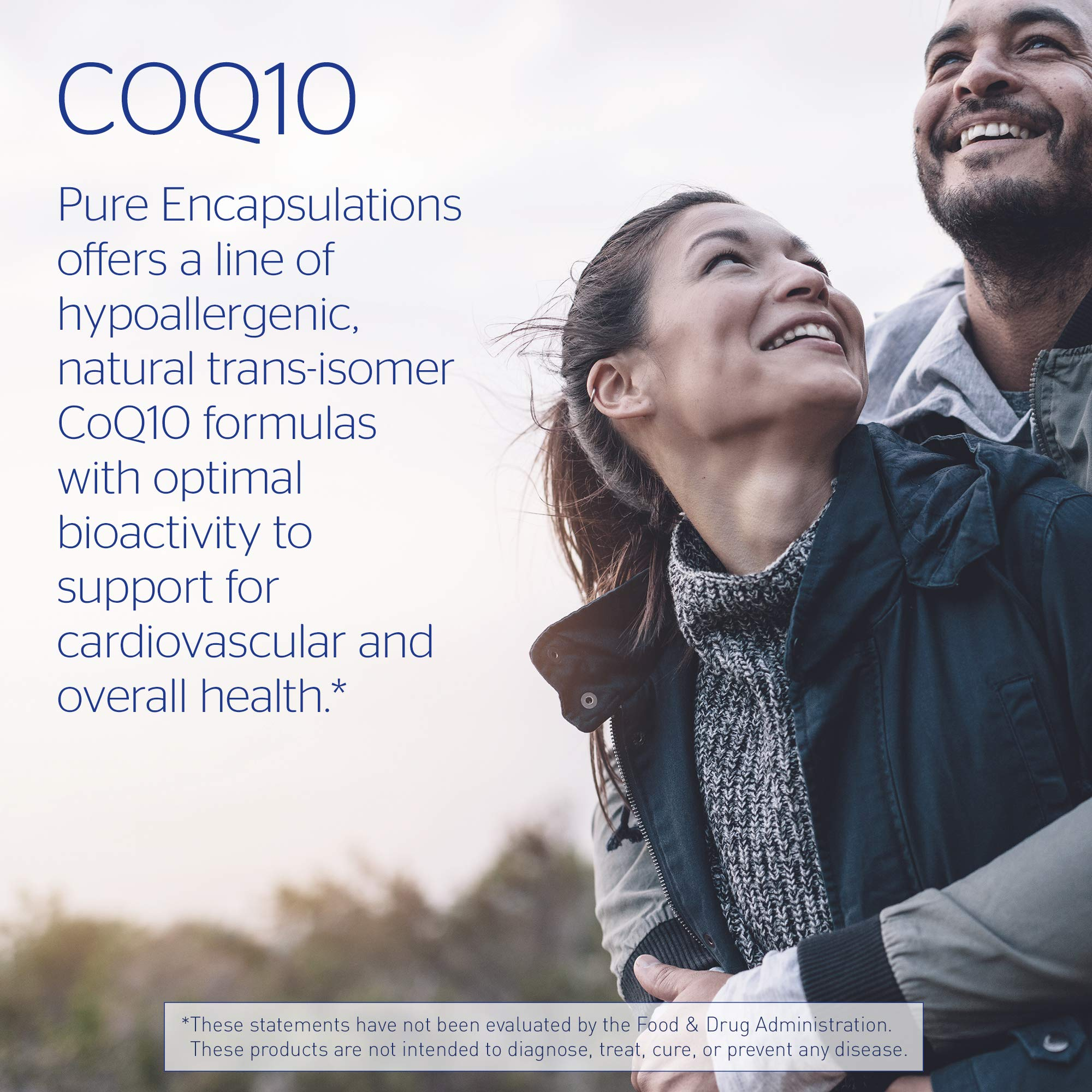 Pure Encapsulations - Ubiquinol-QH 200 mg - Hypoallergenic Supplement - Active Antioxidant Form of CoQ10-60 Softgel Capsules by Pure Encapsulations (Image #7)