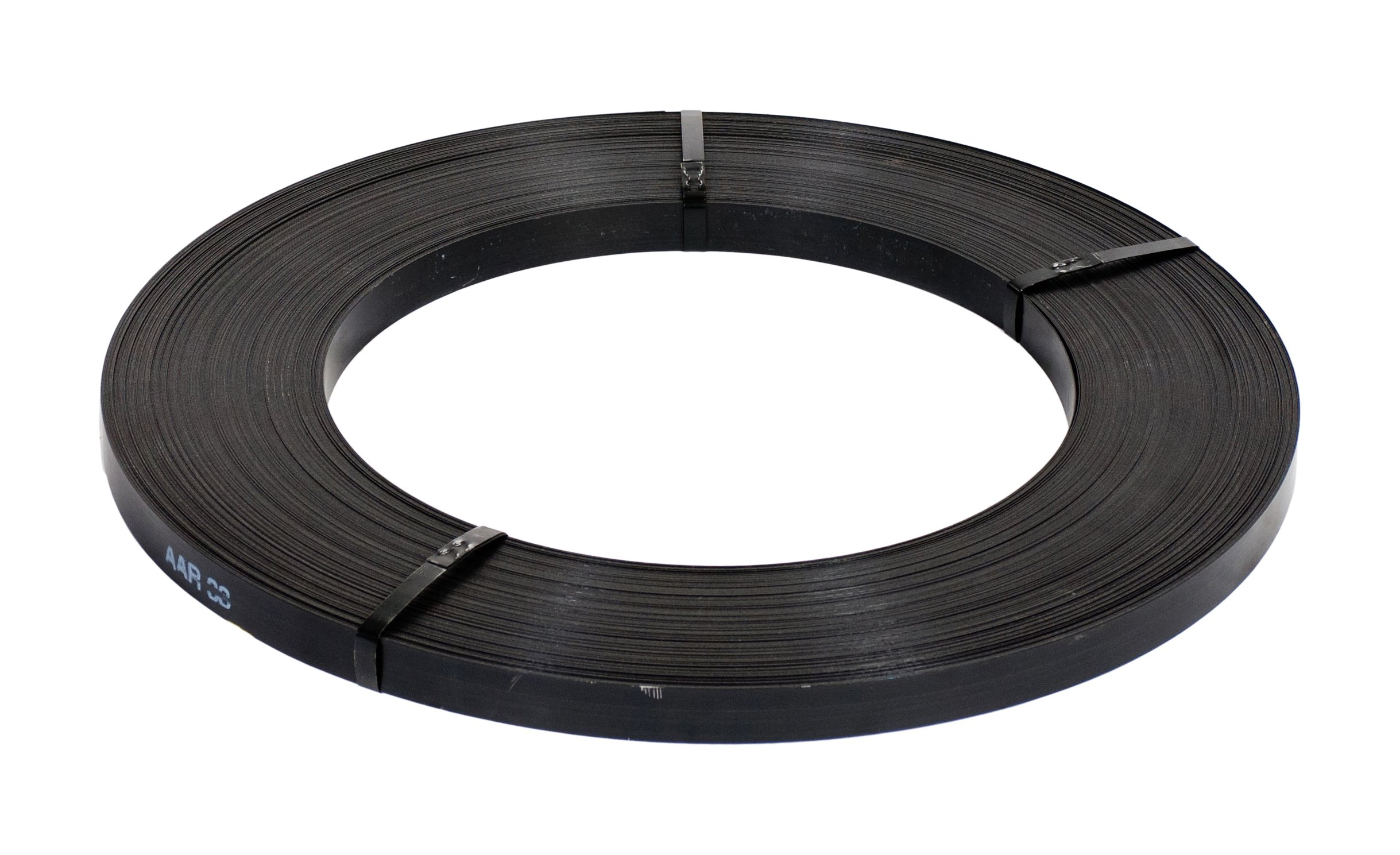 The Packaging Wholesalers 3/4'' x 2058' .020 Standard Grade Steel Strapping (SSS34020)
