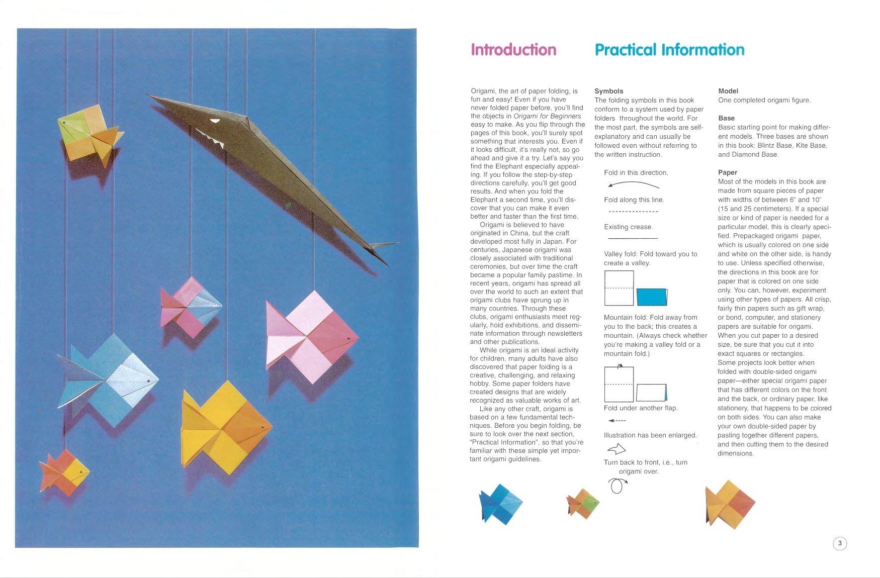 Origami For Beginners The Creative World Of Paper Folding Florence