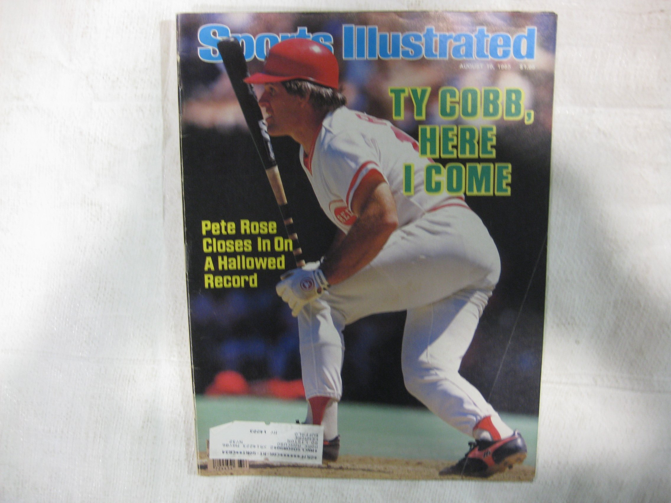 Sports Illustrated August 19 1985 8 1990 Topps Magazine