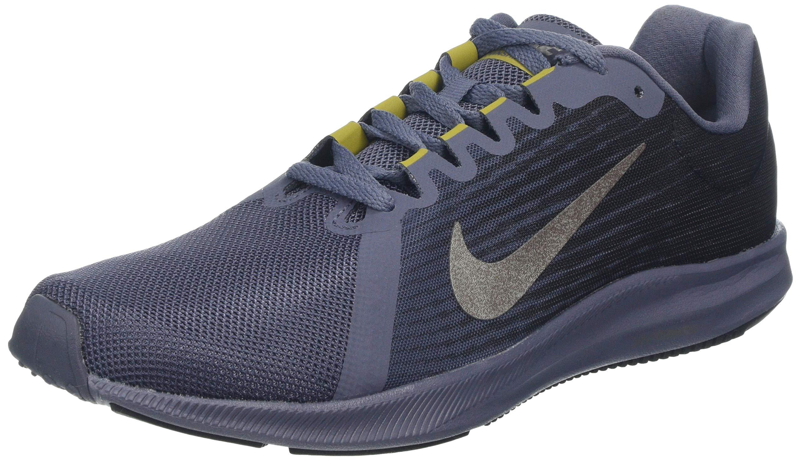 Nike Men's Downshifter 8 Running Shoe Light Carbon/Metallic Pewter/Peat Moss/Black Size 7.5 M US