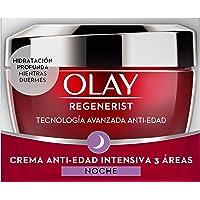 Olay Regenerist Crema de noche, Crema facial de noche sin fragancia con niacinamida y péptidos, 50 ml
