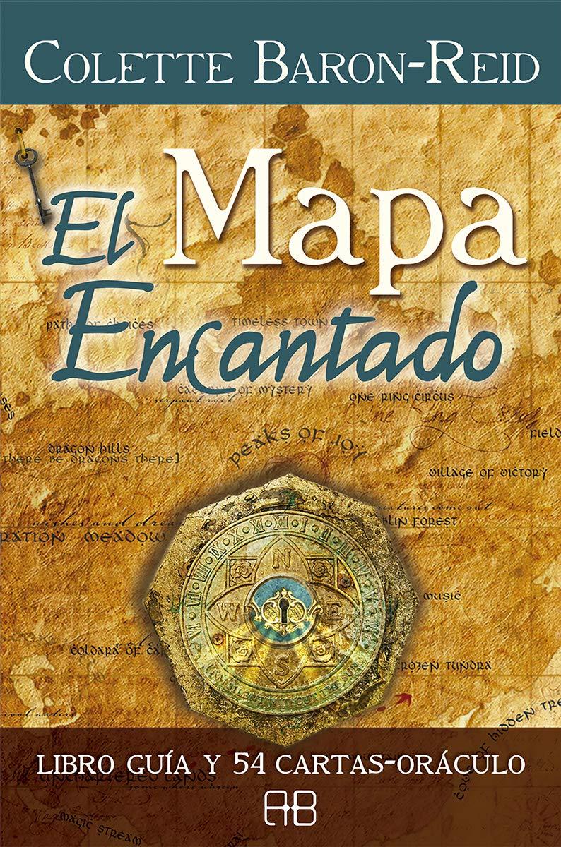 El mapa encantado: Libro guía y 54 cartas-oráculo: Amazon.es ...