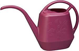 Bloem Living AW1512-12 12-Pack Aqua Rite Watering Can Set, 36-Ounce, Union Red