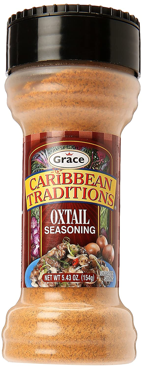 amazon com caribbean traditions oxtail seasoning 5 43oz meat