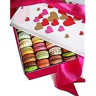 LeilaLove Macarons 21 Gourmet Macarons - Freshly baked to order - Love in Paris box
