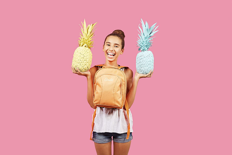 Smile Smart Backpack Interior Acolchado, separadores Interiores extra/íbles Color salm/ón Mochila para c/ámara fotogr/áfica