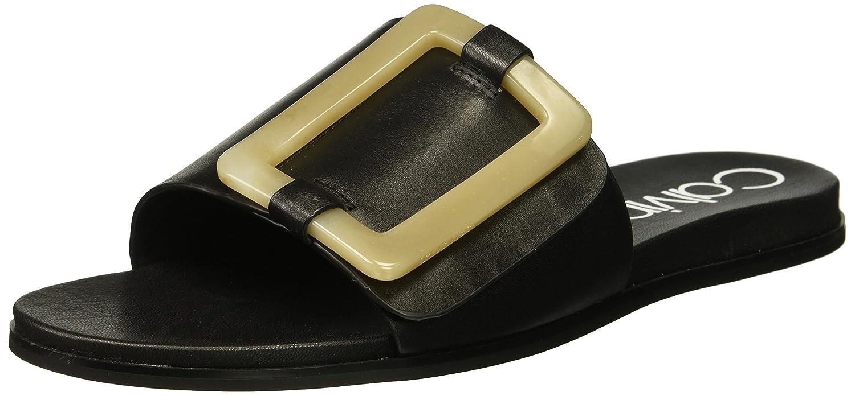 Calvin Klein Women's Patreece Slide Sandal B0781VNK5K 5.5 B(M) US|Black