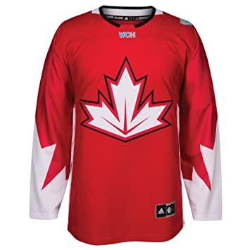 huge discount 3bba8 df803 Team Canada 2016 World Cup of Hockey Adidas Men's Premier Red Jersey