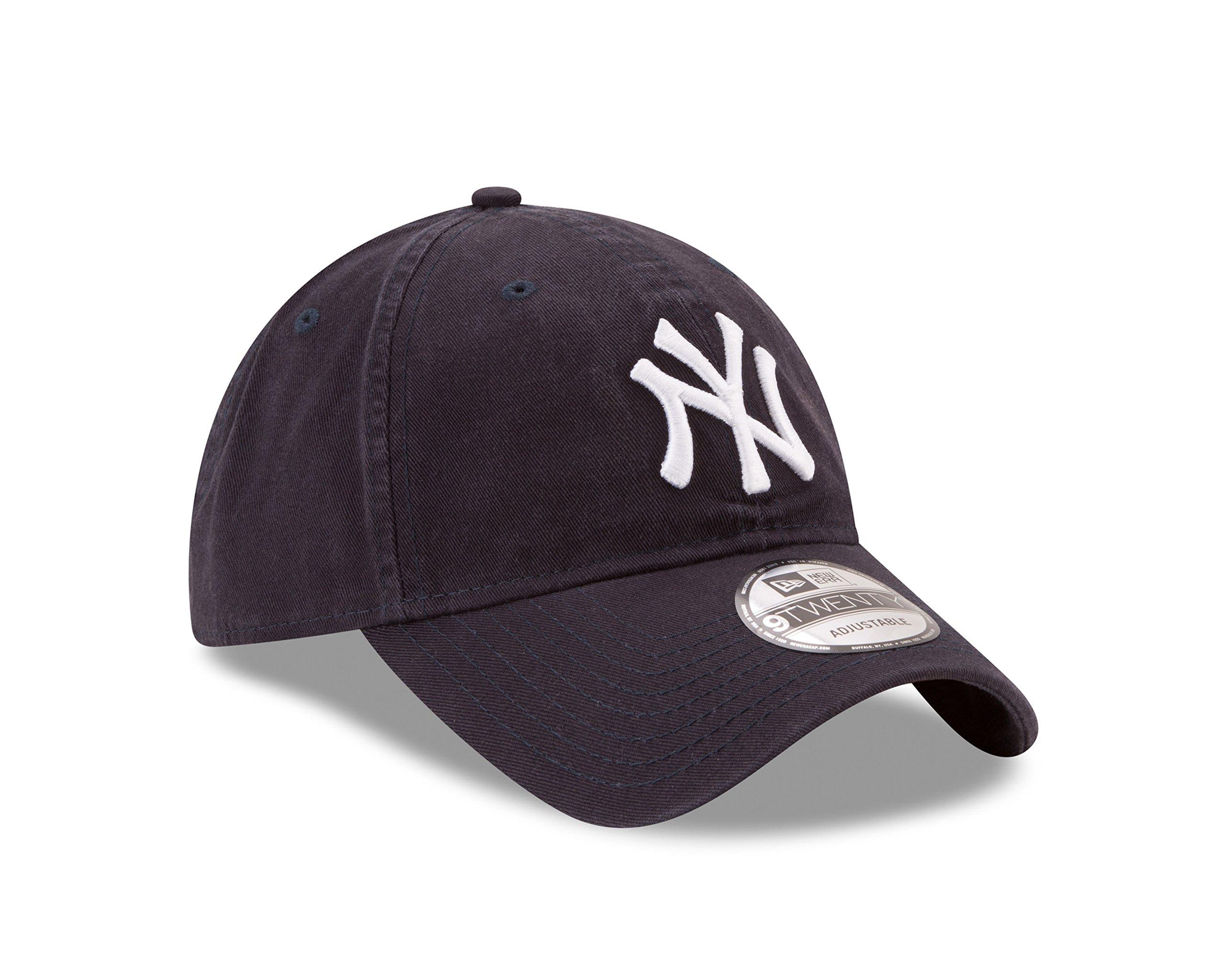 New Era New York Yankees MLB Core Classic 9TWENTY Adjustable Cap Navy by New Era (Image #2)