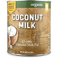 Nature's Greatest Foods, Organic Unsweetened Coconut Milk, Food Service Size, 96 Ounce