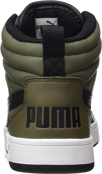 puma rebound street v2 olive night