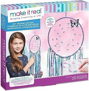 Make It Real 1403 DIY Dreamcatcher - Dream Catcher Arts and Crafts Kit - Multicolour