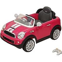 Prinsel Auto Eléctrico Mini Cooper S, Color Rosa