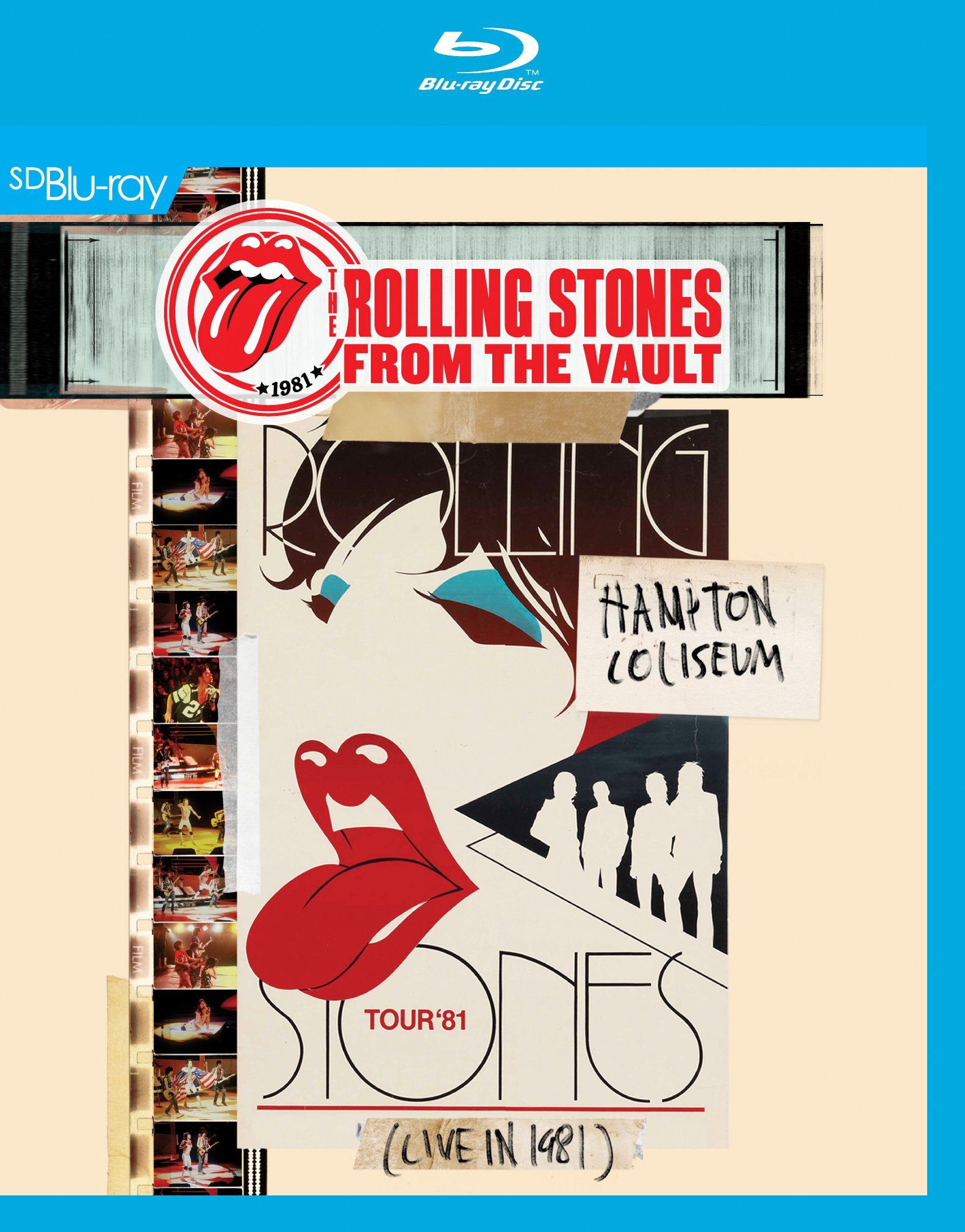 Blu-ray : The Rolling Stones - From the Vault: Hampton Coliseum (Live in 1981) (Blu-ray)
