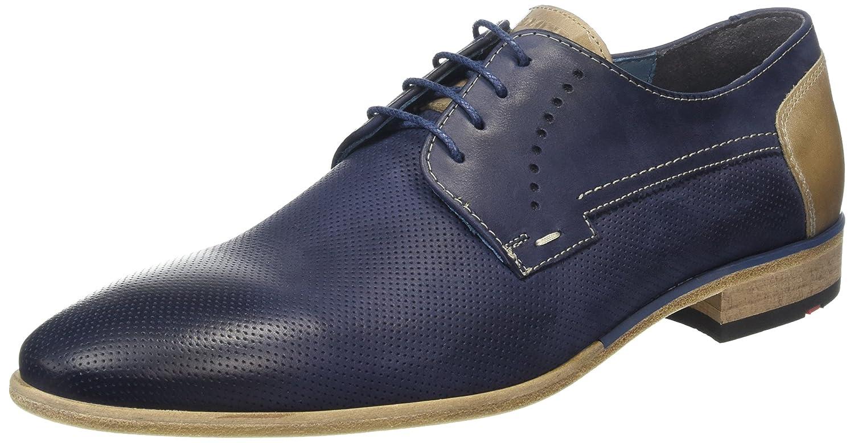 7a49f01d5f84 Amazon.com | Lloyd DRANNON Men's Dressy Casual Ocean Blue Leather ...