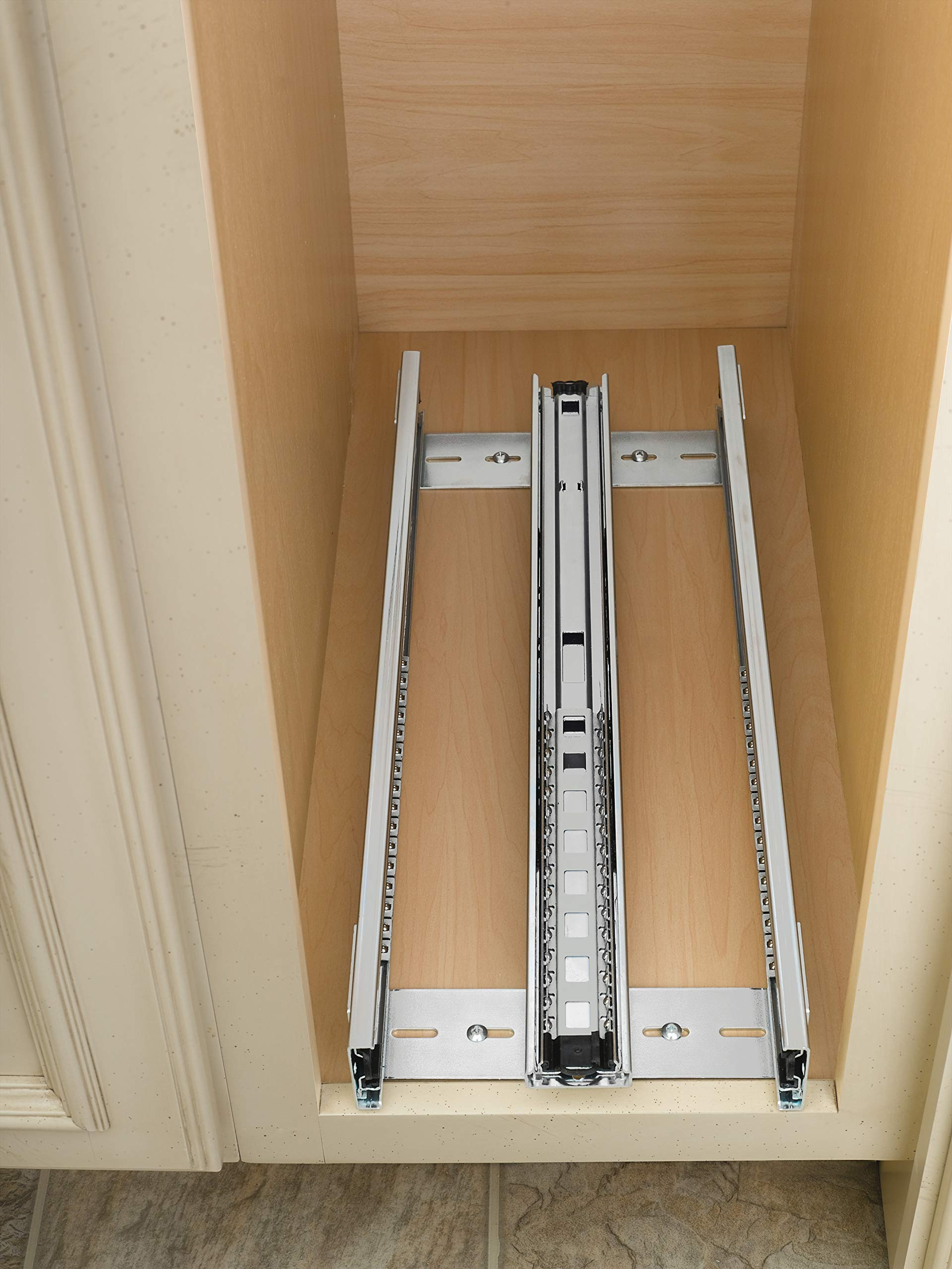 Rev-A-Shelf - 448-BC-5C - 5 in. Pull-Out Wood Base Cabinet Organizer by Rev-A-Shelf (Image #5)