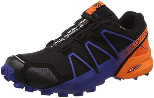 4a30bba75d Salomon Speedcross 4 GTX Ltd, Zapatillas de Trail Running para Hombre,  Negro (Black/Scarlet Ibis/Surf The Web 000), 40 2/3 EU: Amazon.es: Zapatos  y ...