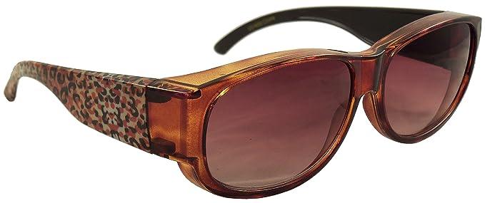 Amazon.com: Ideal Eyewear - Gafas de sol con estampado de ...