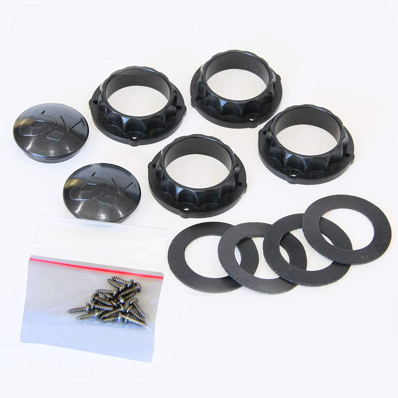 Blokart Bearing Shield Kit Unisex-Adult Noir