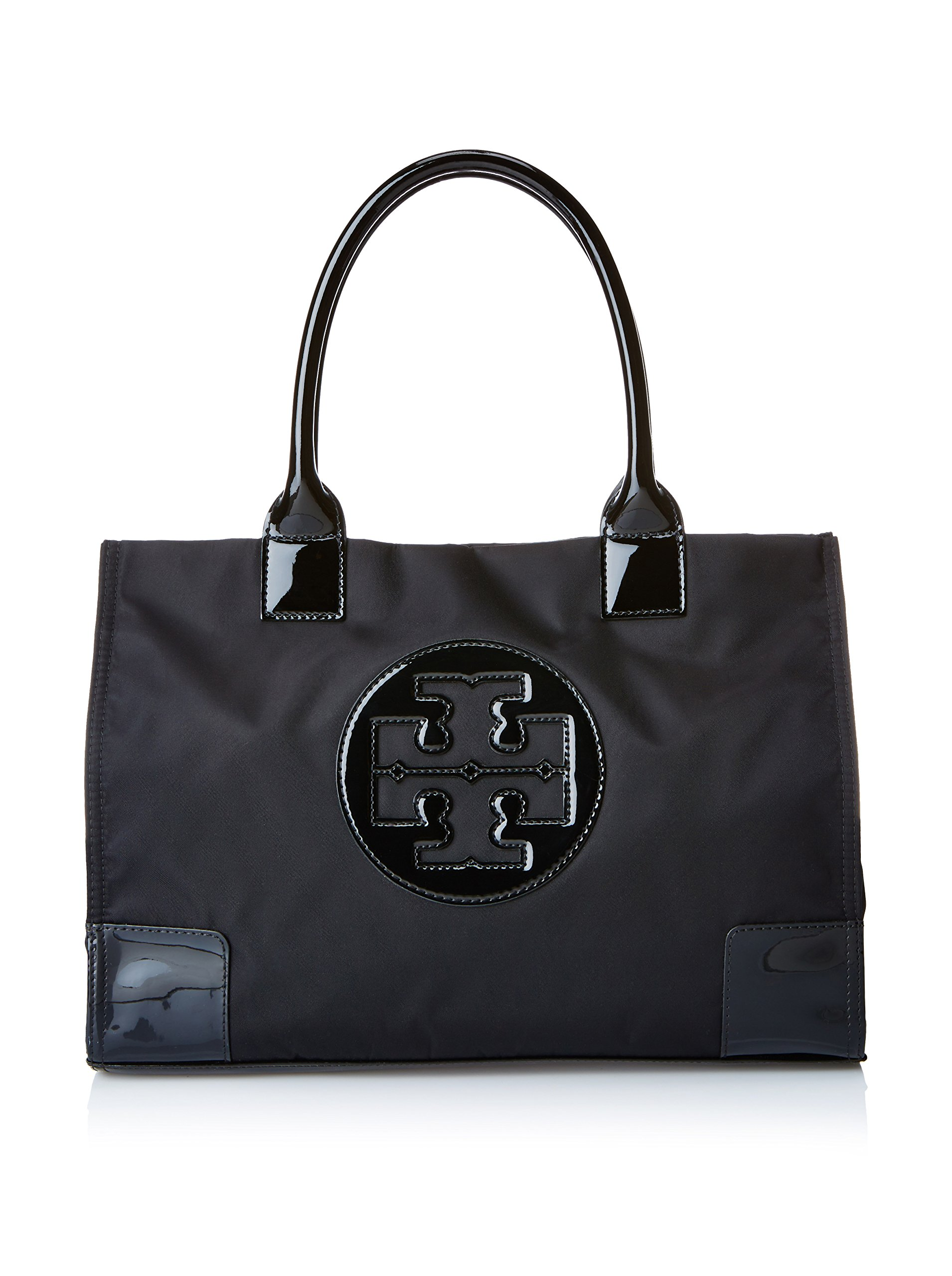Tory Burch Nylon Mini Ella Tote - Black by Tory Burch