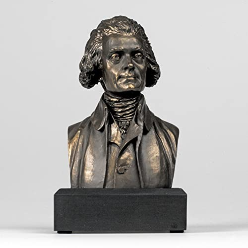 Thomas Jefferson Bust Statue – Founding Father – Great Americans Collection