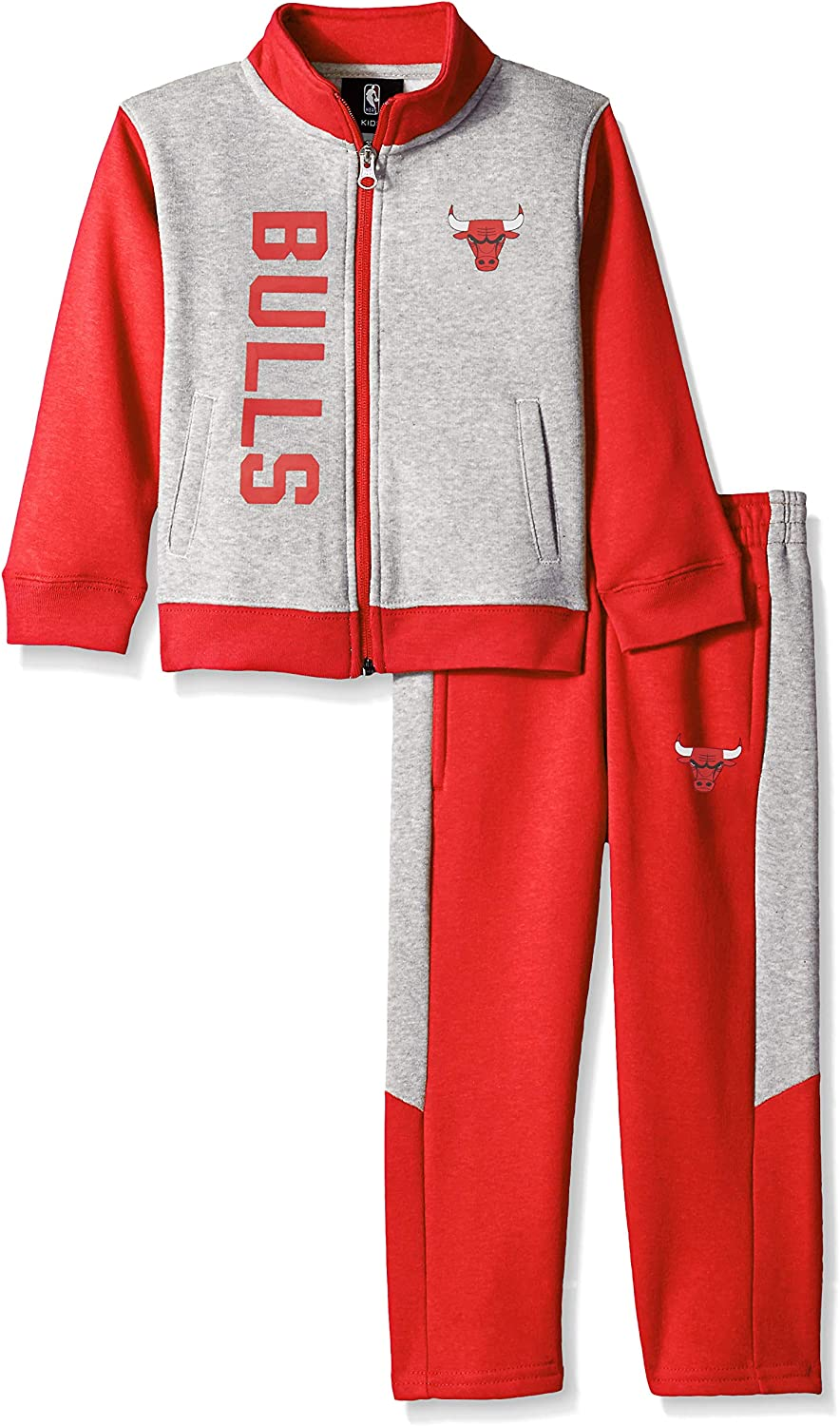 NBA by Outerstuff NBA Toddler On the Line Jacket /& Pants Fleece Set