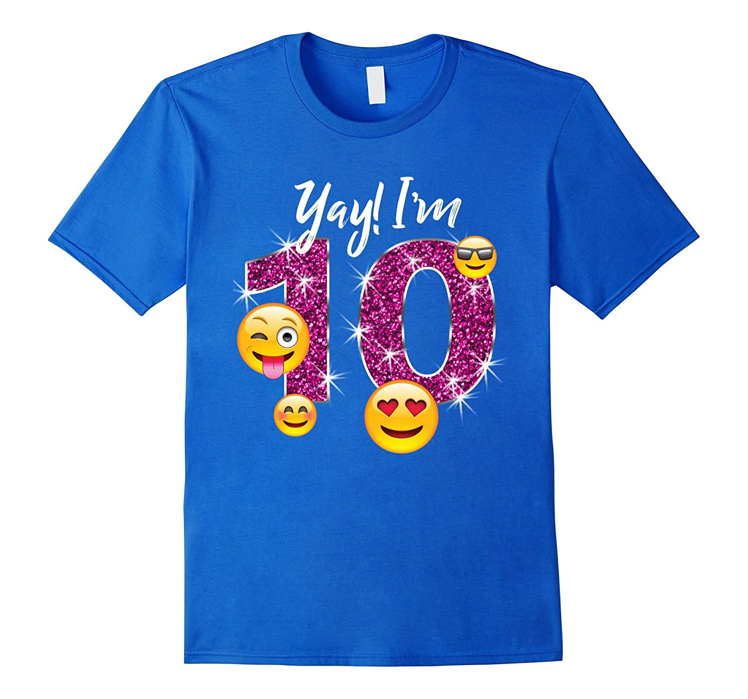Amazon 10th Birthday Shirt For Girls Ten Year Old Girl Gift