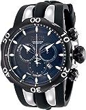 Invicta Men's 10835 Venom Reserve Chronograph Black Dial Black Polyurethane Watch