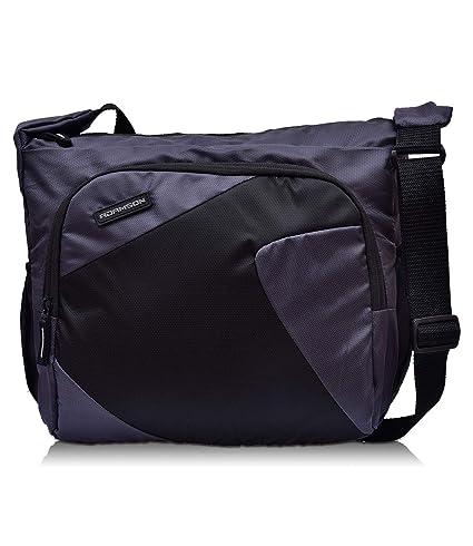 Adamson Unisex Imported Model Grey Side Bag(ASB-074)