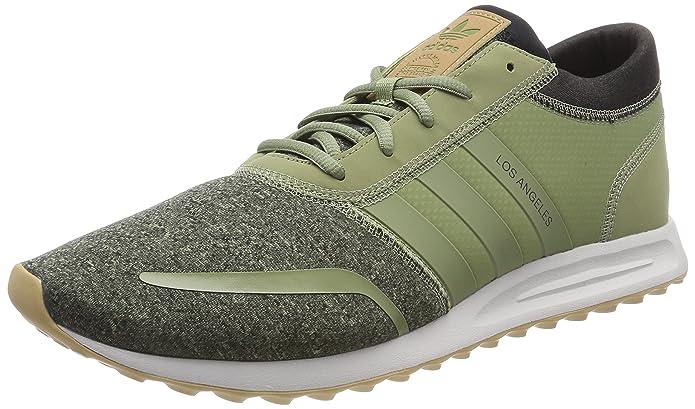Angeles Streifen Herren Grün Adidas Günstig Schuhe Los MWeißen lFc1KTJ