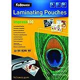 Fellowes 53512 - Pack de 100 fundas para plastificar, formato A3 (297 × 420 mm)